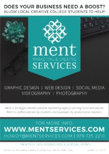 Ment Marketing & Creative Services Poster