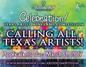 Messina Hof Winery Art Competition Advertisement