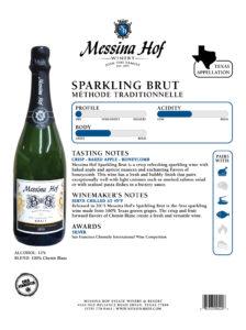 Messina Hof Winery Spec Sheet
