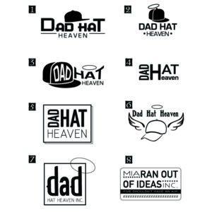 Dat Hat Heaven Logo Drafts