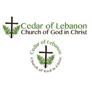 Cedar of Lebanon Church Custom Logo with Alternative