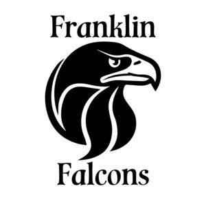 Franklin Falcons custom logo for Tshirt