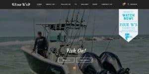 Four W's Fishing Team Website